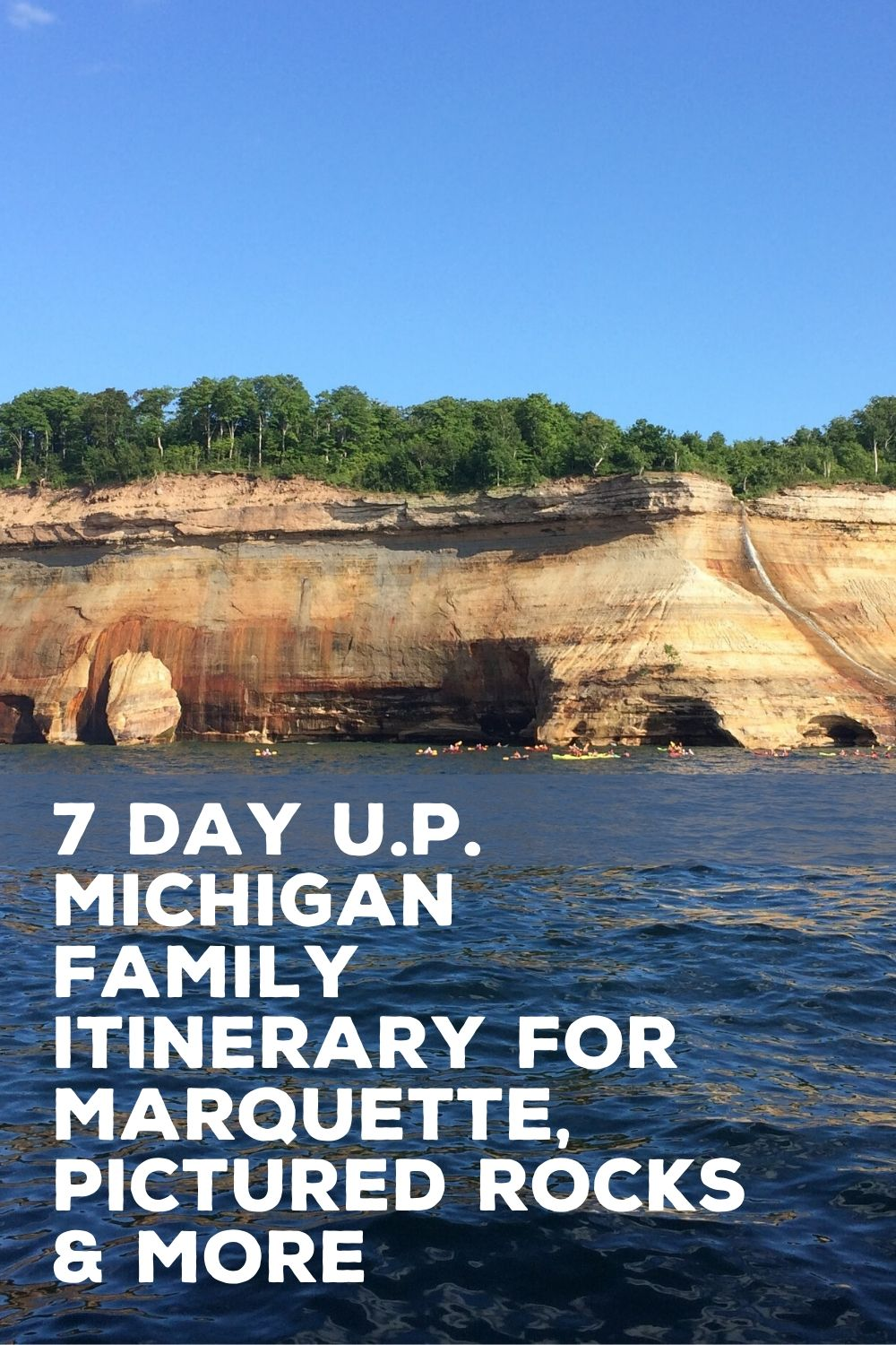 pictured rocks with kids