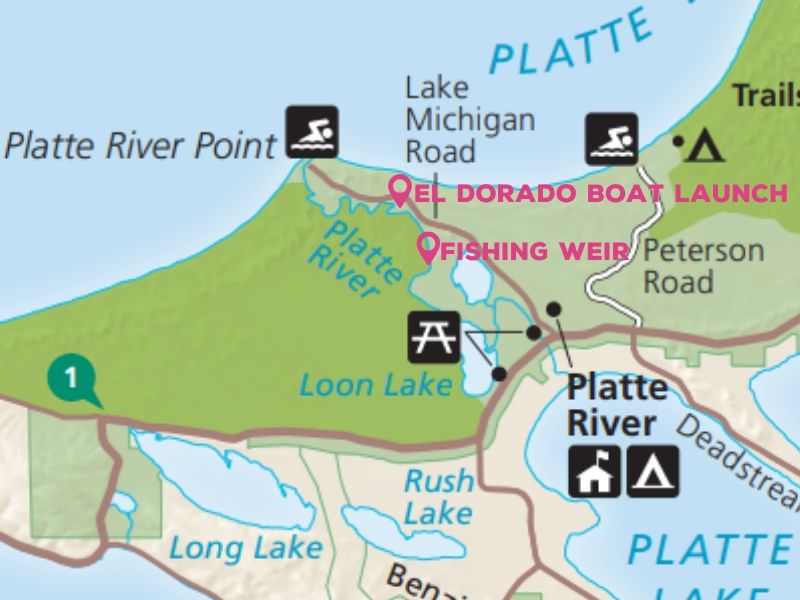 platte river tubing map
