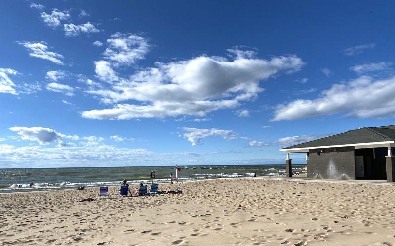 1st st beach manistee MI 2