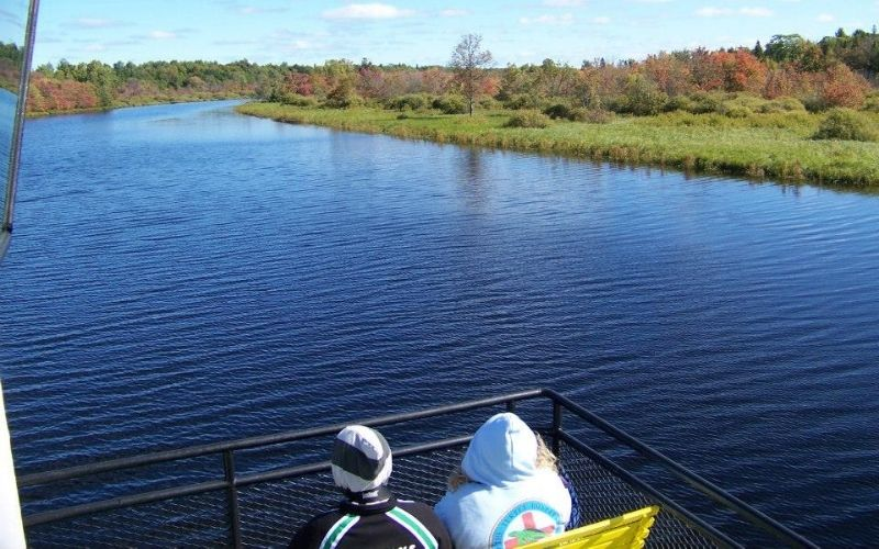 Fall Colors Tahquamenon Falls Riverboat Tours the Famous Toonerville Trolley 4