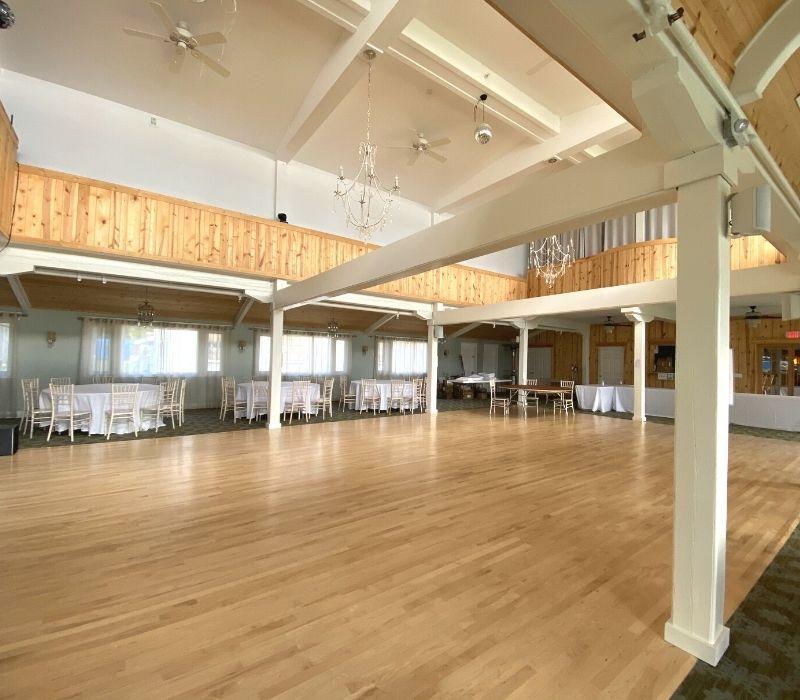 portage point resort ballroom