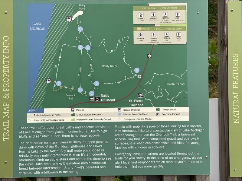 trail info old baldy