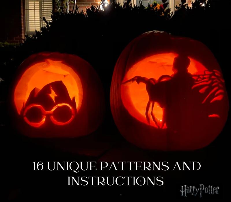 Harry Potter Pumpkin Patterns