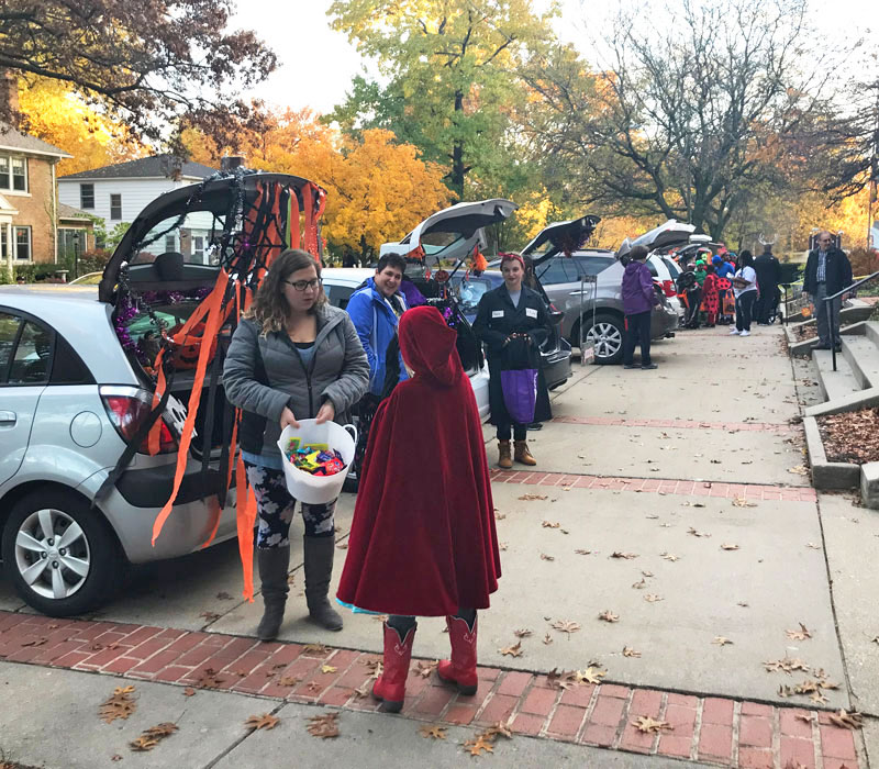 grand rapids trunk or treats east congregational church Hunt