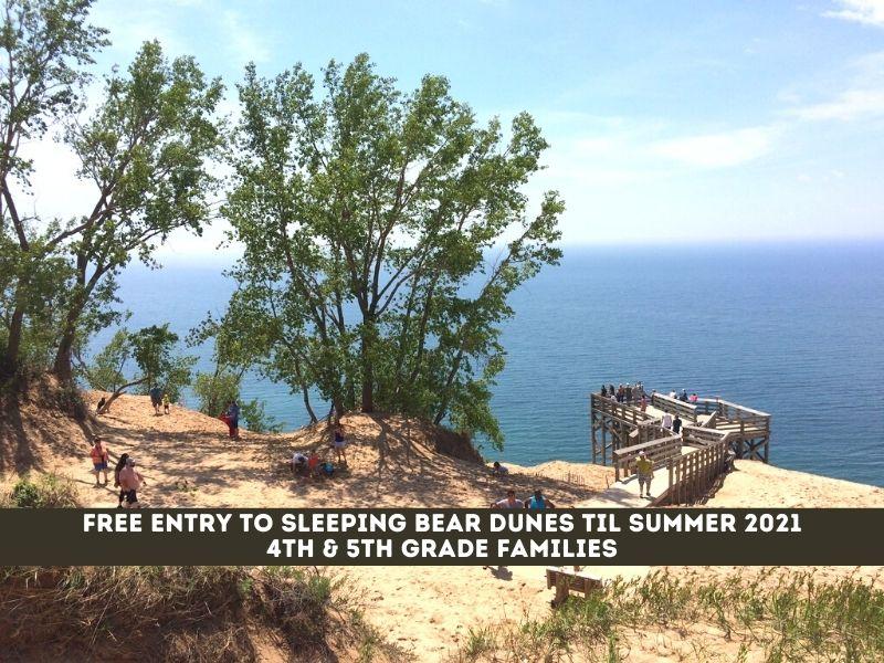 Get in Free Sleeping Bear Dunes