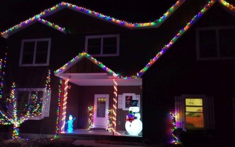 10677 Stirrup Dr Caledonia Christmas Lights 2020 1