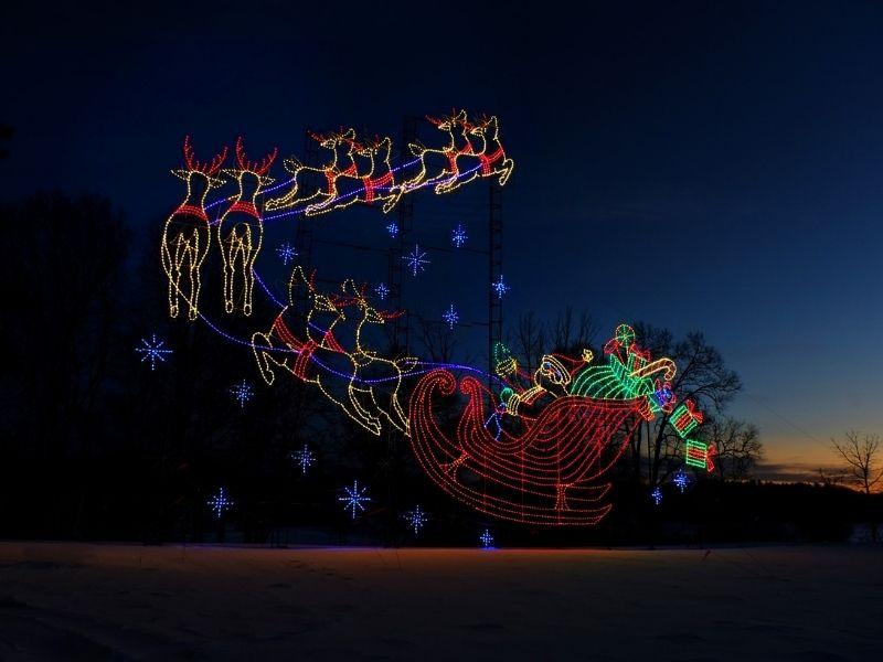 Drive Through Christmas Lights Christmas at Crossroads Holiday Magic 2020