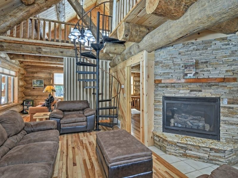 Tustin Michigan Cabin Rental for Vacations