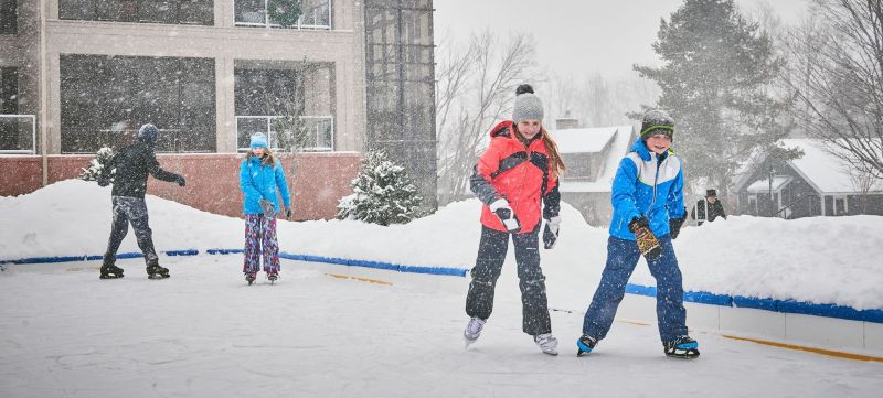 crystal mountain kids ice skating