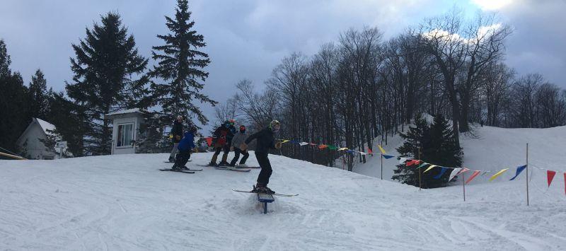 mt mcsauba skiing