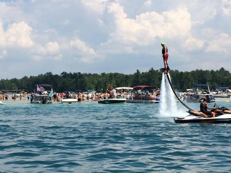 torch lake flyboard and hoverboard rentals