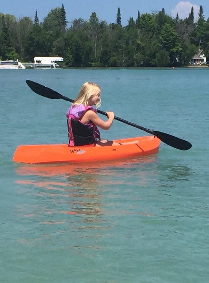 torch lake kayak