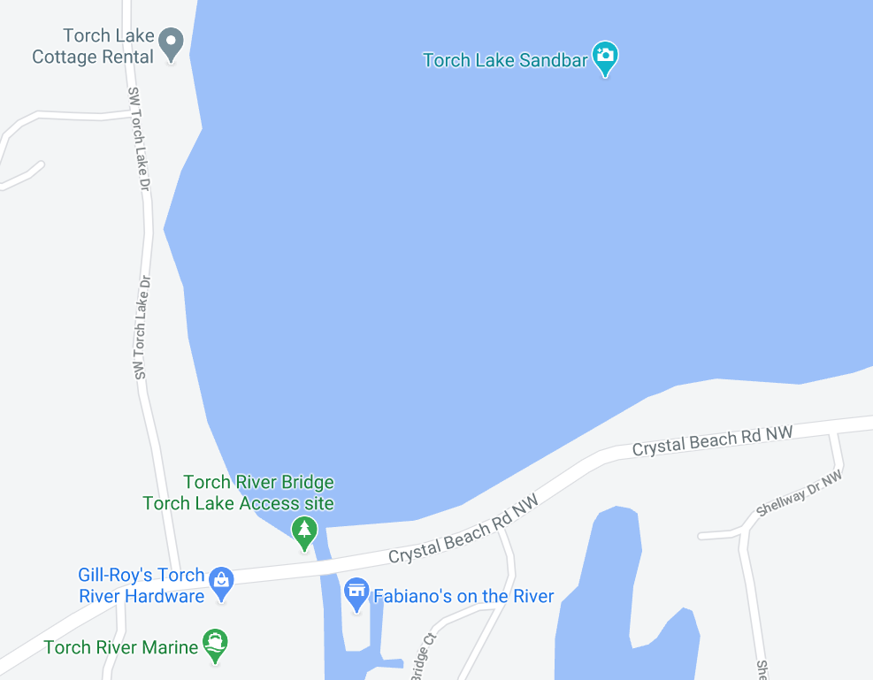 torch river bridge torch sand bar map