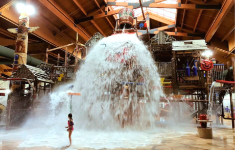 Great Wolf Lodge Indoor Water Parks in Michigan