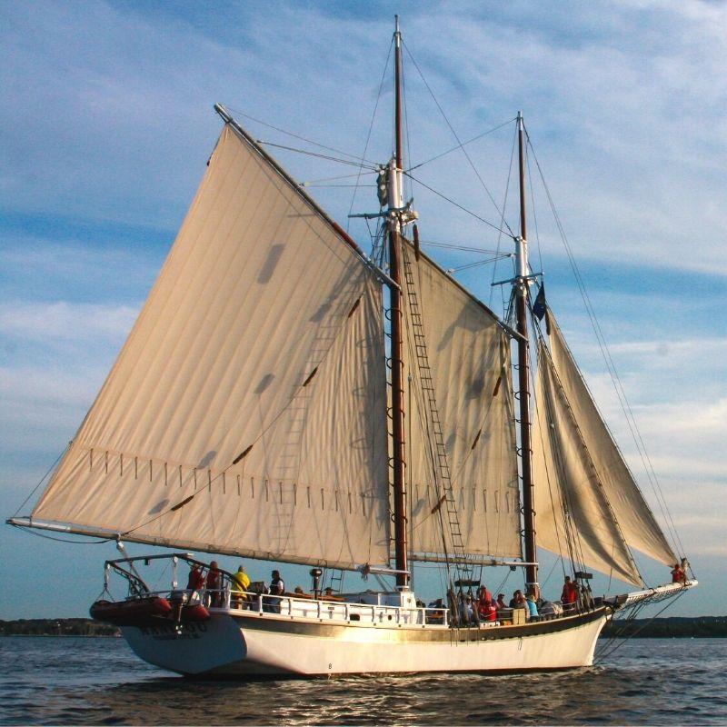 Tall ship manitou Traverse City Michigan 1