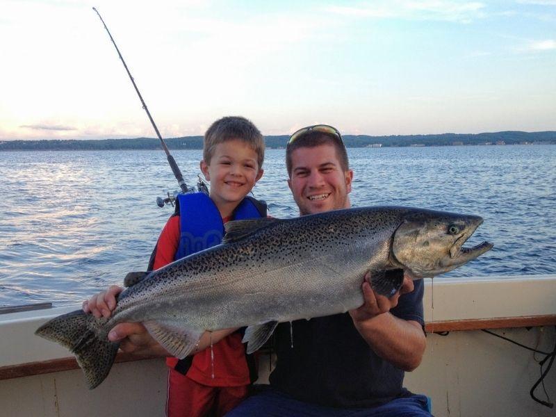 traverse city fishing charters daydreamer fishing