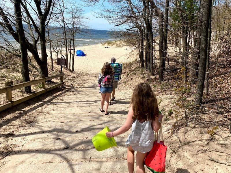 PJ Hoffmaster State Park Beach Lake Michigan 3