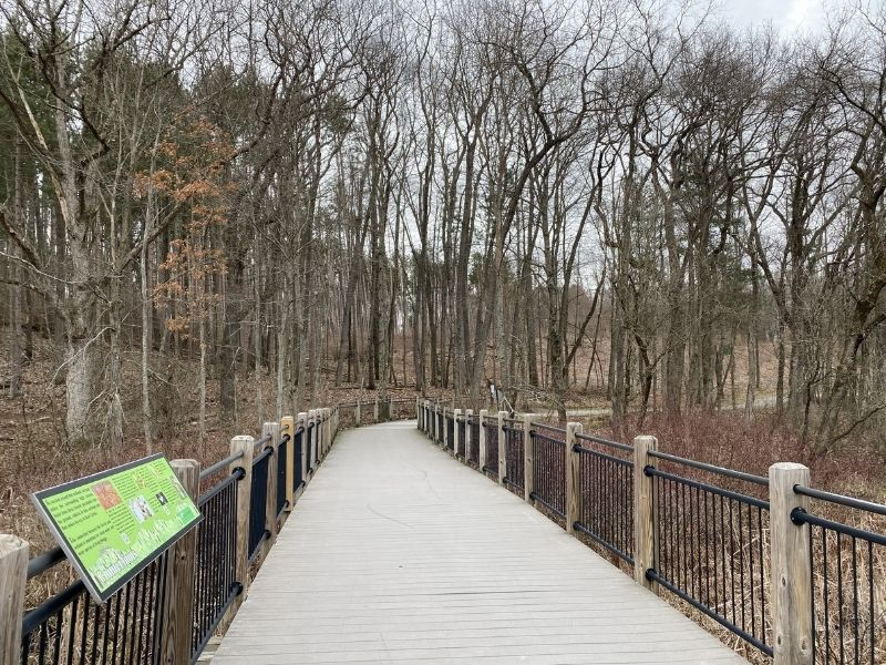 Townsend Park connects with Cannon Trails