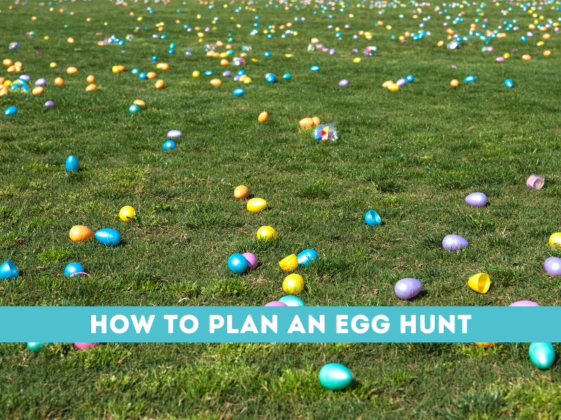 how to plan an egg hunt