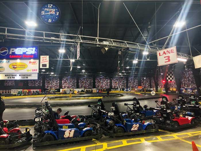 Craigs Cruisers Indoor go karts