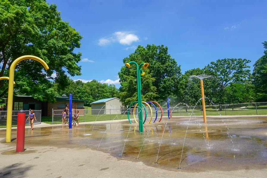 Use only Mulick Park Splash Pad