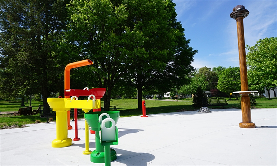 Use only for Aberdeen Park Splash Pad
