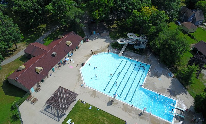 Use only for Briggs Park Pool aerial shot