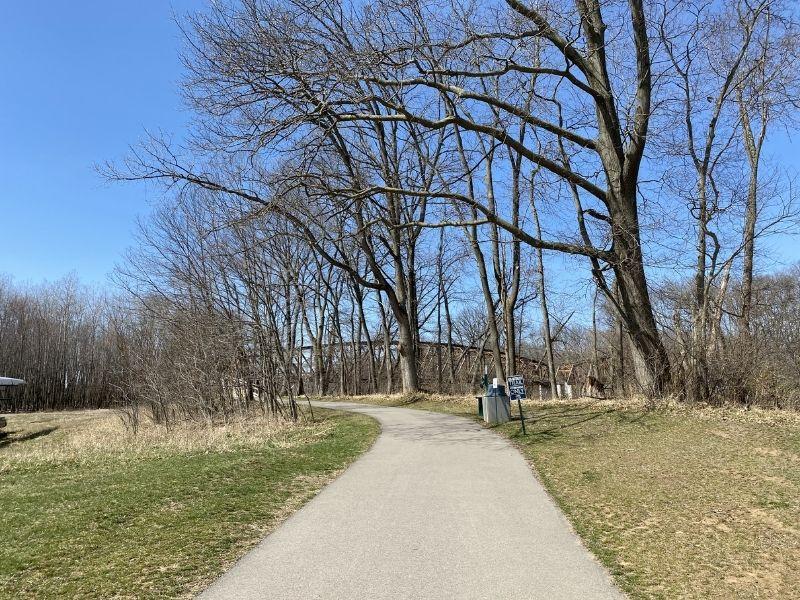 Walking Trail at Grand River Riverfront Park Lowell