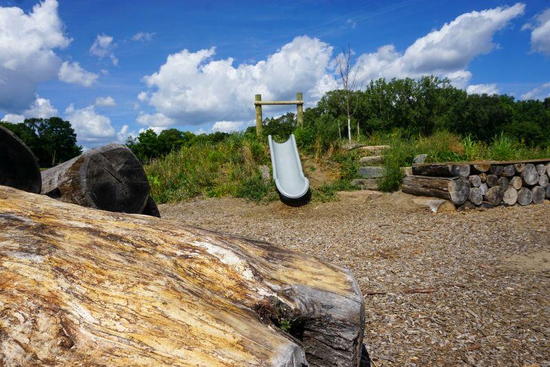 Use only for Plaster Creek Park natural playscape slide