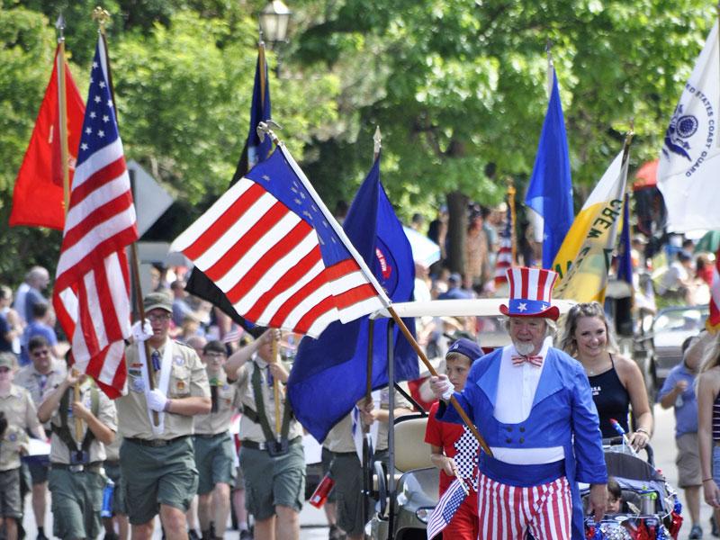Cascade 4th of July parade VanderW