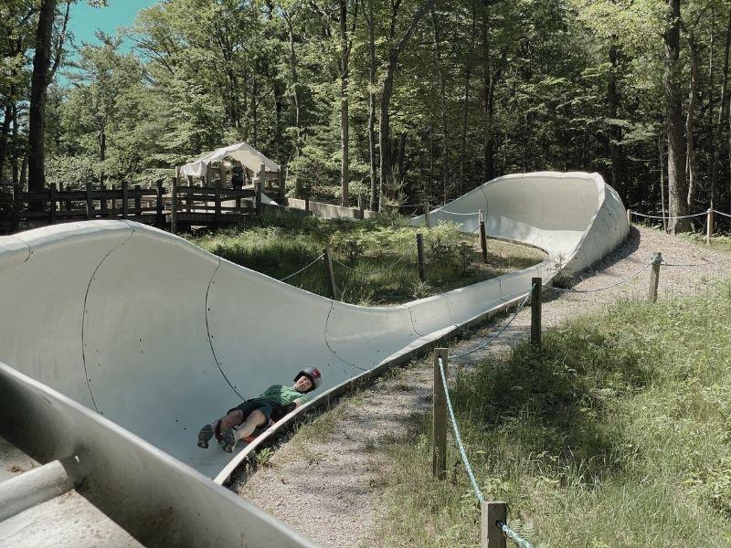Summer Luge Slide at Muskegon Adventure Sports Park 1