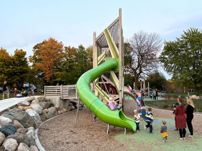 john ball zoo park playground 1