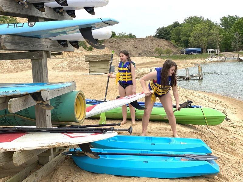 lake arvesta farms kayaks sups