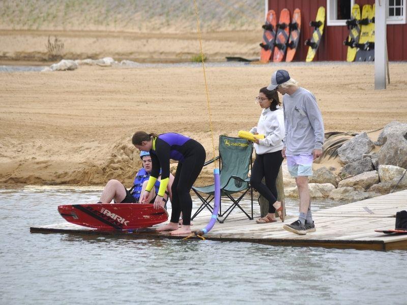 lake arvesta wakeboarding