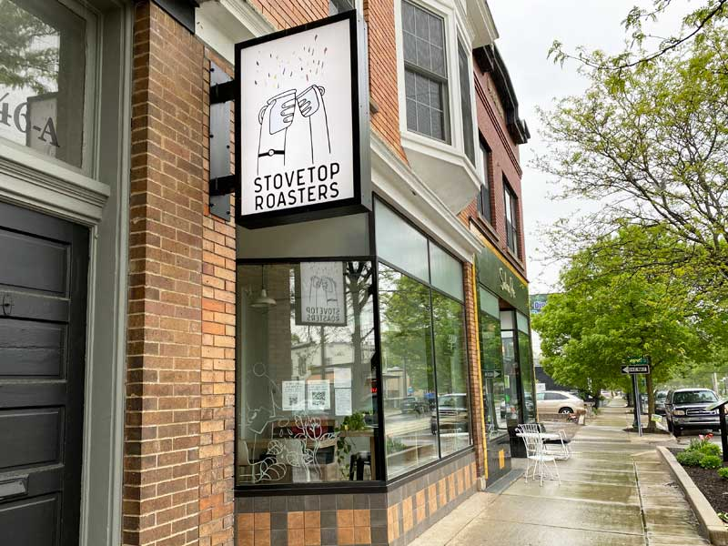 Coffee shops Stovetop Roasters