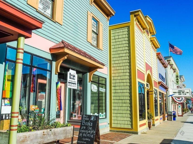 Downtown Suttons Bay Michigan