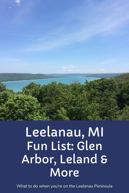 Leelanau Peninsula Glen Arbor Leland