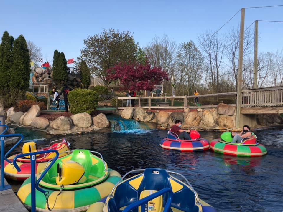 ajs family fun center bumber boats