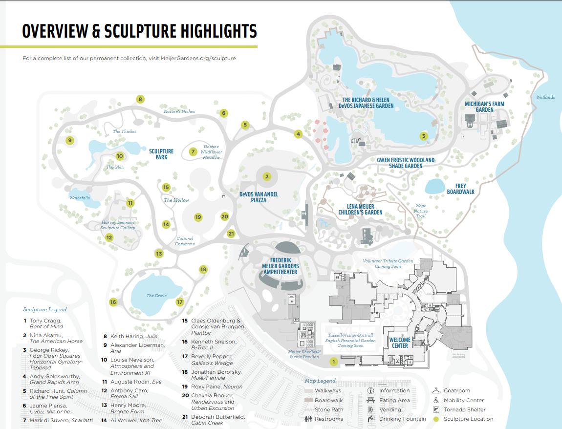 frederik meijer gardens map