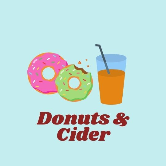 donuts and cider button