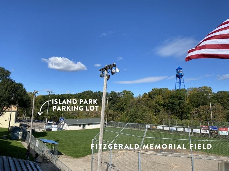 Fitzgerald Memorial Field and Island Park Parking Lot
