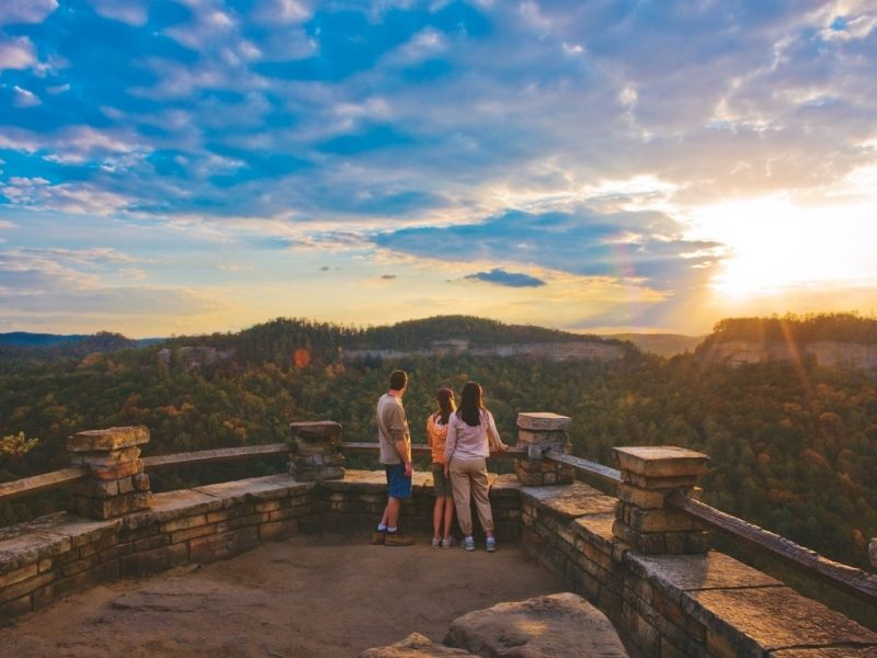 Things to do in Kentucky with Kids - Red River Gorge