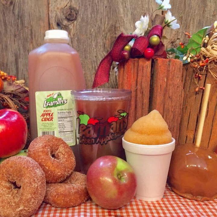 Leaman's Green Applebarn cider donut