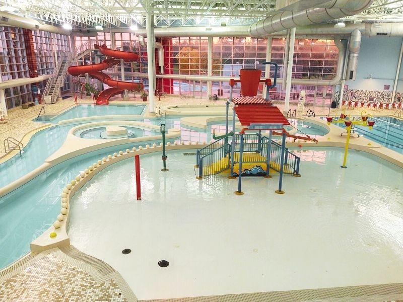 Romulus Athletic Center Indoor Water Park in Michigan